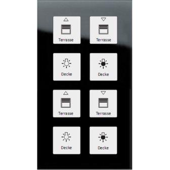 MDT Vorführgerät Glastaster 8-fach