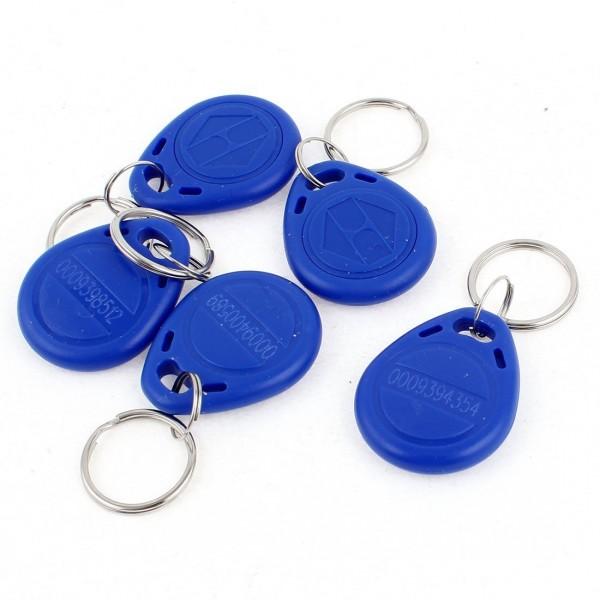 RFID Transponder Chipschlüssel EM, 125KHz, Blau Cute